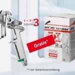 Aktion mit SATA RPS 0,3 l minijet Einwegbechern