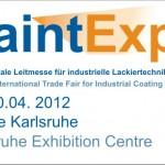 PaintExpo, 4. Internationale Leitmesse für industrielle Lackiertechnik 2012