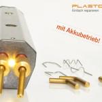 Plastoclip -- Die neue Art der Kunststoffreparatur.