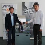 """Technik der Spitzenklasse erhält das ANEST IWATA Prüfsiegel B-TEC Waschgeräte sind """"ANEST IWATA approved"""""""