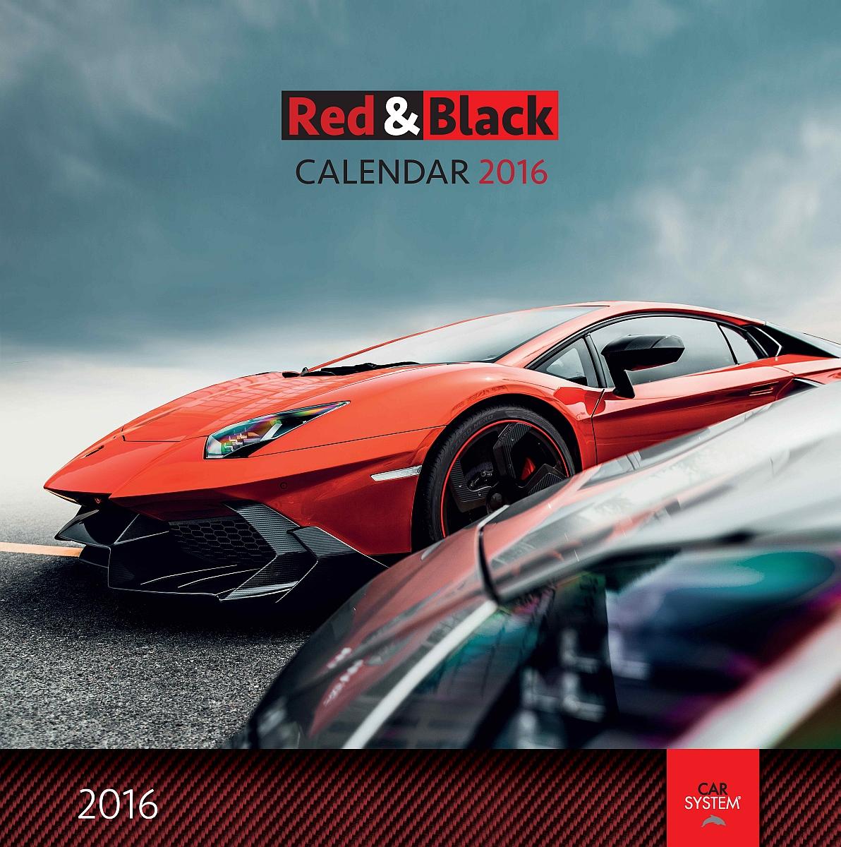 100 carsystem kalender red black 2016 f r euch. Black Bedroom Furniture Sets. Home Design Ideas