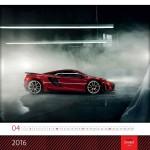 100 Carsystem Kalender Red & Black 2016 für euch!