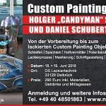 Custom Painting: Profi-Workshop für Airbrush-Fahrzeug-Lackierung