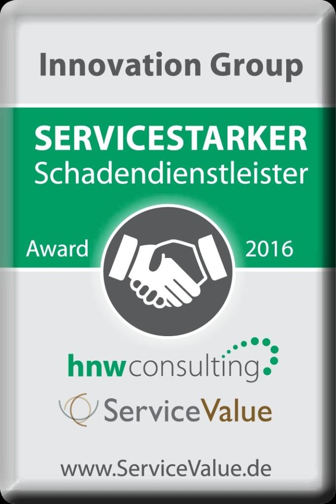 IG_Servicestarker Schadendienstleister_Zertifikat