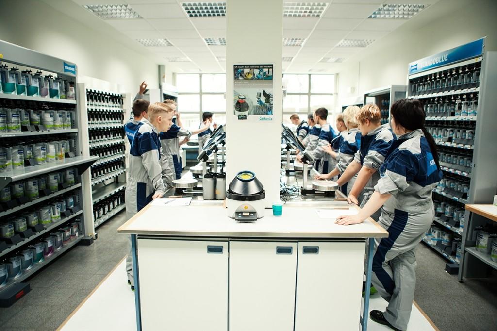 Repanet_Labor, Lehrsituation
