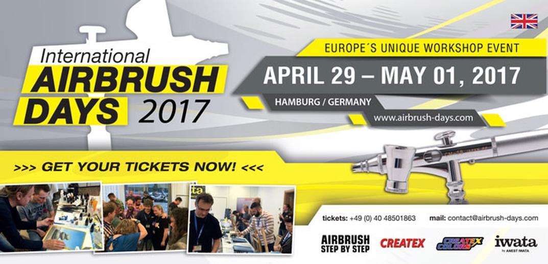 international-airbrush-days-2017-uber-30-workshops-und-vorfuhrungen-mit-internationalen-profis-rund-um-die-spritzpistole